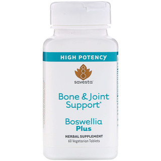 Savesta, Bone & Joint Support, Boswellia Plus, 60 Vegetarian Tablets
