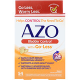 Azo Bladder Control >> Azo Bladder Control With Go Less 72 Capsules