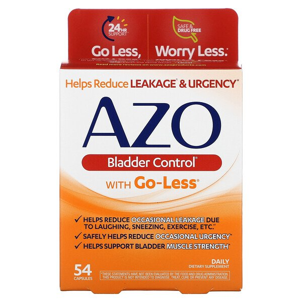 Bladder Control with Go-Less, 54 Capsules