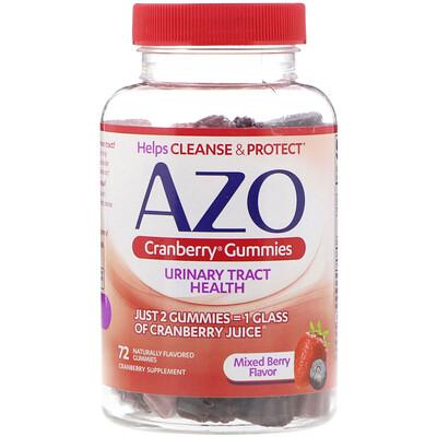 Купить Жевательные таблетки с клюквой, смешанный вкус ягод, 72 жевательные таблетки с натуральным вкусом