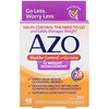 Azo, Bladder Control with Go-Less & Weight Management, 48 Capsules