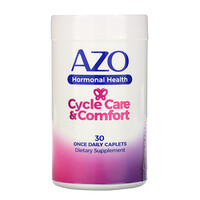 Azo, Hormonal Health, Cycle Care & Comfort, 30 Once Daily Caplets