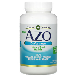 Azo, D-Mannose, Urinary Tract Health, 120 Capsules
