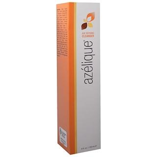 Azelique, Age Refining Cleanser, アゼライン酸配合、石けん無使用、植物性原料、パラベン無使用、硫酸塩無使用、4 fl. oz. (120 mL)