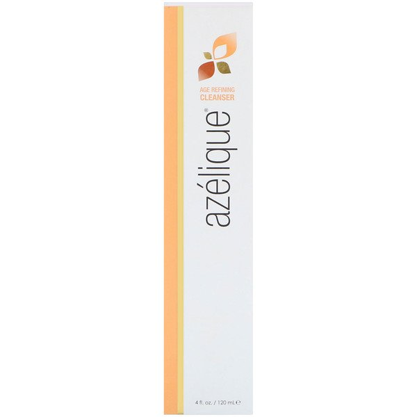 Azelique, Age Refining Cleanser, Soap-Free, Botanical Ingredients, No Parabens, No Sulfates, 4 fl oz (120 ml)