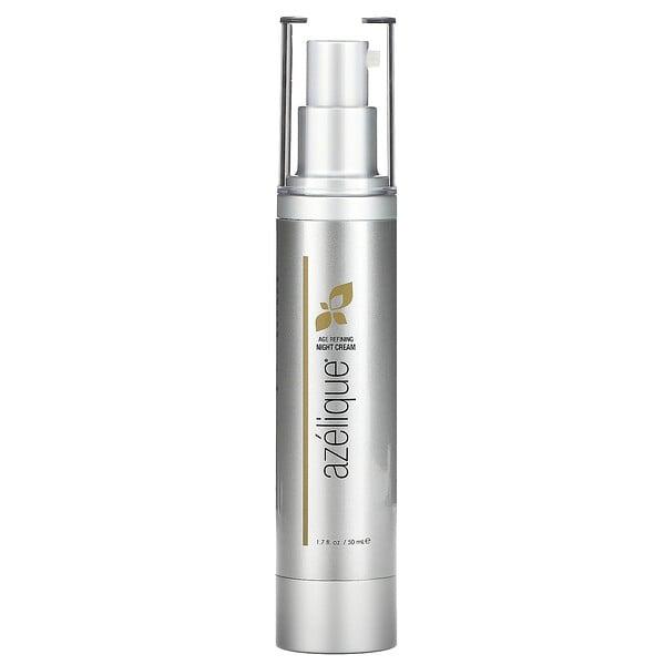 Age Refining Night Cream, Anti-Aging-Nachtcreme mit Azelainsäure, feuchtigkeitsspendend, ohne Parabene und Sulfate, 50ml