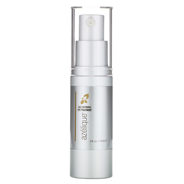 Azelique, Age Refining Eye Treatment, with Azelaic Acid, Rejuvenating and Hydrating, No Parabens, No Sulfates, .5 fl oz (15 ml)