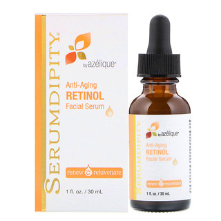 Azelique, Serumdipity, vitamine A, rétinol anti-âge, sérum facial, 30 ml (1 fl oz)