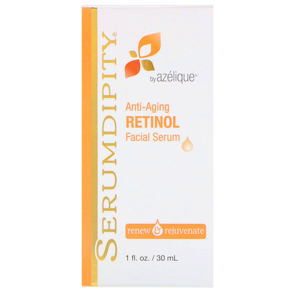 Azelique, Serumdipity, Anti-Aging Retinol Facial Serum, 1 fl oz (30 ml)