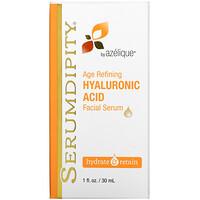 Azelique, セラムディピティ、エイジングケアヒアルロン酸、フェイシャルセラム、1液量オンス(30ml)
