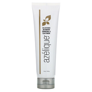 Azelique, Clay Beauty Mask, Age Refining Activated Charcoal & Clay Beauty Mask, 5 oz (140 g)