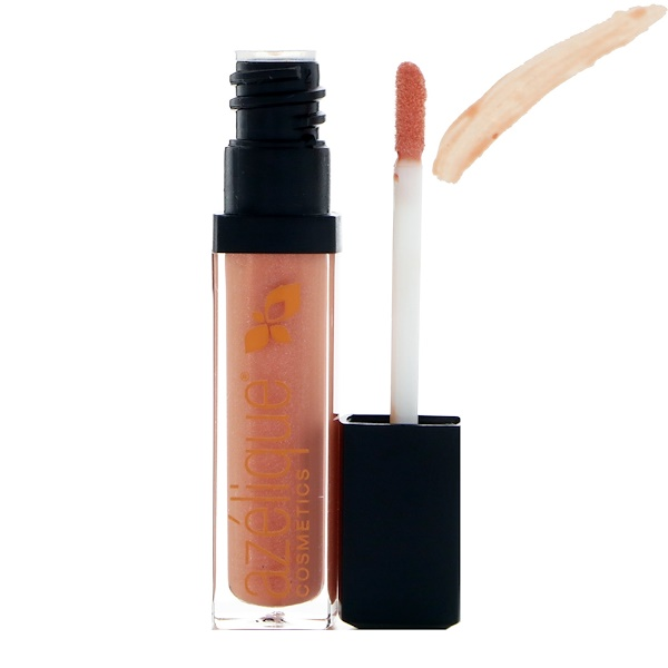 Azelique, Lip Gloss, Coral Crush, Cruelty-Free, Certified Vegan, 0.21 fl oz (6.5 ml)