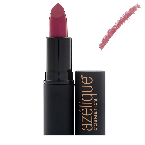 Azelique, Lipstick, Gone Mauve, Cruelty-Free, Certified Vegan, 0.13 oz (3.80 g) (Discontinued Item)