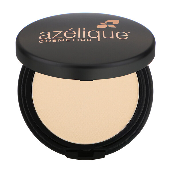 Azelique, Pressed Powder Satin Foundation, Fair, Cruelty-Free, Certified Vegan, 0.35 oz (10 g)