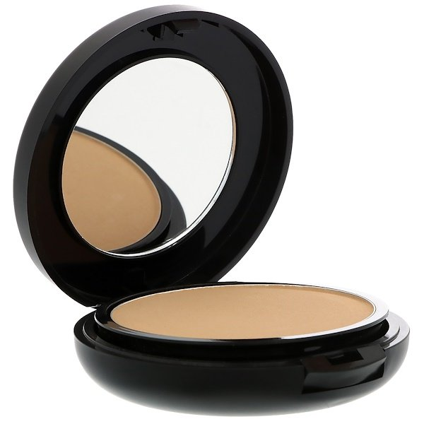 Azelique, Pressed Powder Satin Foundation, Medium, Cruelty-Free, Certified Vegan, 0.35 oz (10 g)