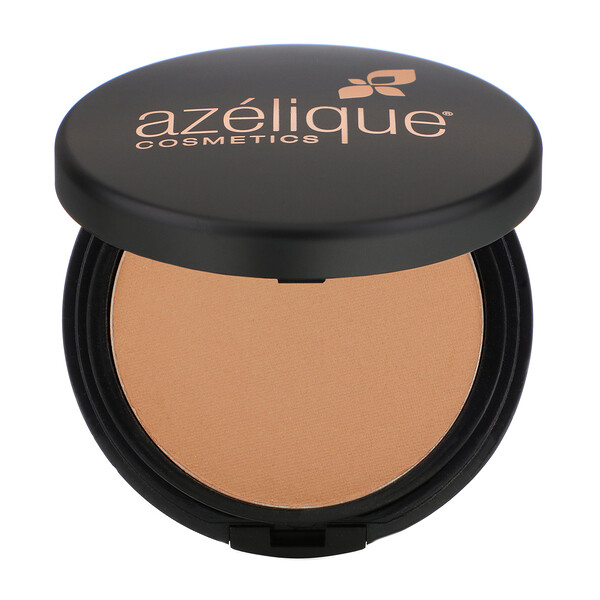 Pressed Powder Satin Foundation, Tan-Deep, Cruelty-Free, Certified Vegan, 0.35 oz (10 g)