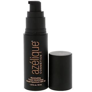 Azelique, Illuminating Tinted Moisturizer Broad Spectrum SPF 20, Fair, Cruelty-Free, Certified Vegan, 1.18 fl oz (35 ml)