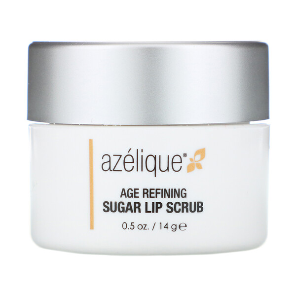 Azelique, Age Refining Sugar Lip Scrub, 0.5 oz (14 g) (Discontinued Item)