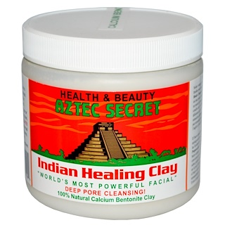 Aztec Secret, Arcilla India para Curar, 1 lb (454 g)