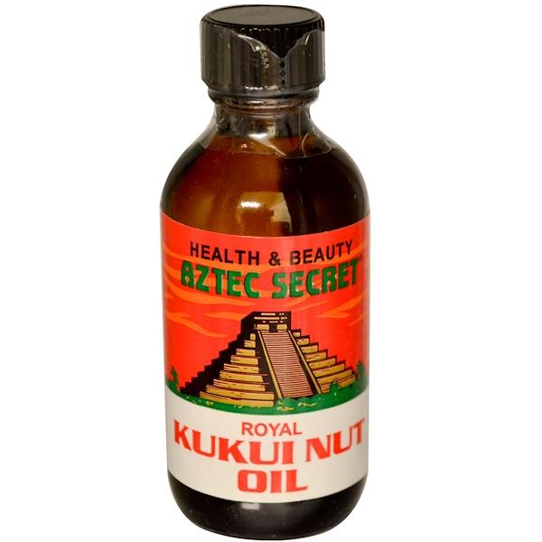 Aztec Secret, Royal Kukui Nut Oil, 2 oz (60 g) (Discontinued Item)