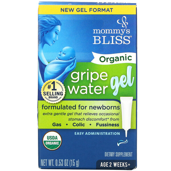 Organic Gripe Water Gel, 2 Weeks+, 0.53 oz ( 15 g)