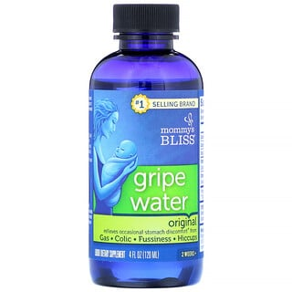 Mommy's Bliss, Gripe Water, Original, 4 fl oz (120 ml)