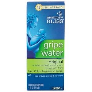 Mommy's Bliss, Gripe Water, Original, 4 fl oz (120 ml)