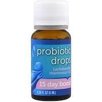 Капли с пробиотиками, курс на 15 дней, для новорожденных, 0,2 жидкие унции (6 мл) - фото