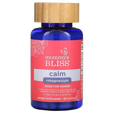 Купить Mommy's Bliss Calm + Magnesium, For Women, 90 Capsules