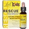 Bach, Remèdes Fleurs original, Solution miracle, Remède naturel contre le stress pour enfants, Formule sans alcool, 0,35 fl oz (10 ml) Compte-gouttes