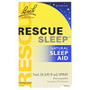 Bach, Original Flower Remedies,  Rescue Sleep, Natural Sleep Aid Spray, 0.245 fl oz (7 ml)