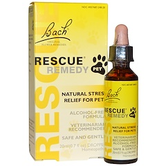 Bach, Original Flower Remedies, Rescue Remedy Pet, 0.7 fl oz (20 ml)