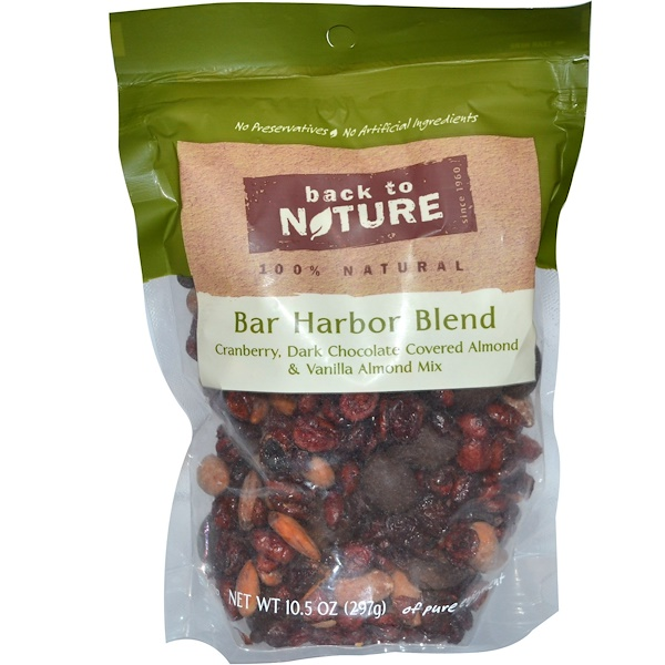 Back to Nature, Bar Harbor Blend, Cranberry, Almond Mix, 10.5 oz (297 g) (Discontinued Item)