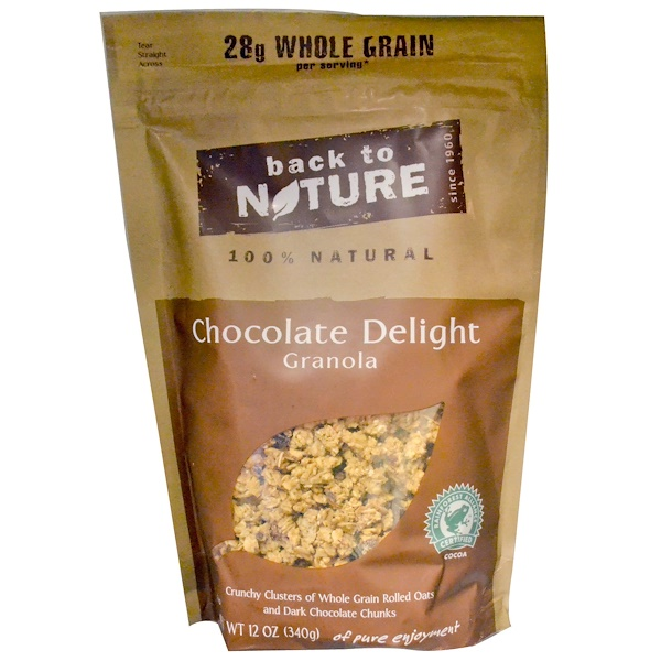Back to Nature, Chocolate Delight Granola, 12 oz (340 g) (Discontinued Item)