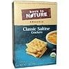 Back to Nature, Натуральные классические соленые крекеры, 7 унций (198 г)