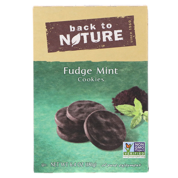 Back to Nature, Cookies, Fudge Mint, 6.4 oz (181 g) (Discontinued Item)
