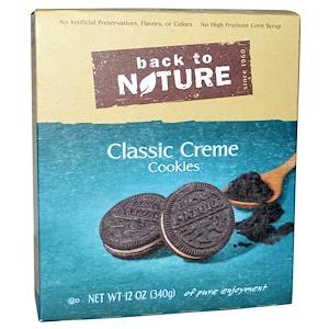 Бэк Ту Найчэ, Cookies, Classic Creme, 12 oz (340 g) отзывы покупателей