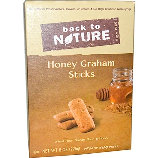 Back to Nature, Sticks, Honey Graham, 8 oz (226 g)