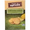 Back to Nature, カリフォルニアレモンクッキー, 9オンス (255 g)