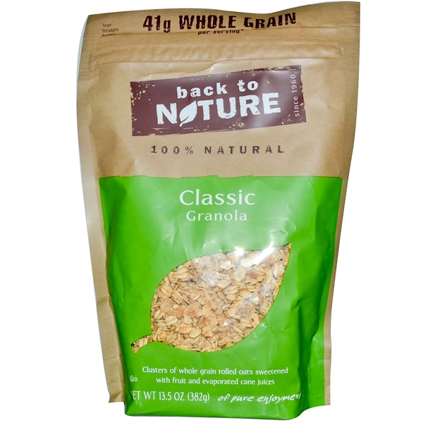 Back to Nature, Classic Granola, 13.5 oz (382 g) (Discontinued Item)
