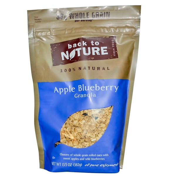 Back to Nature, Apple Blueberry Granola, 13.5 oz (382 g) (Discontinued Item)