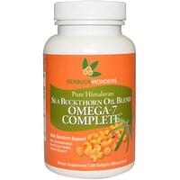 Масло облепихи крушиновидной, Omega-7 Complete, 500 мг, 120 мягких капсул - фото