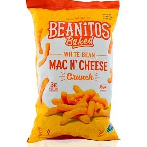 Beanitos, Хрустящие палочки из белой фасоли White Bean Crunch, Mac n' Cheese, 7 oz (198 г) инструкция, применение, состав, противопоказания