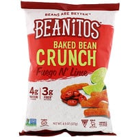 Beanitos, Baked Bean Crunch, Fuego N' Lime, 4.5 oz (127 g)