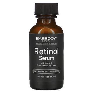 Baebody, 含維生素 E、綠茶和荷荷巴油的視黃醇精華,1 液量盎司(30 毫升)