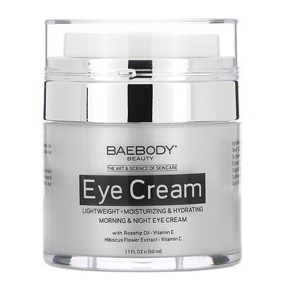 Baebody Eye Cream, Morning & Night, 1.7 fl oz (50 ml)