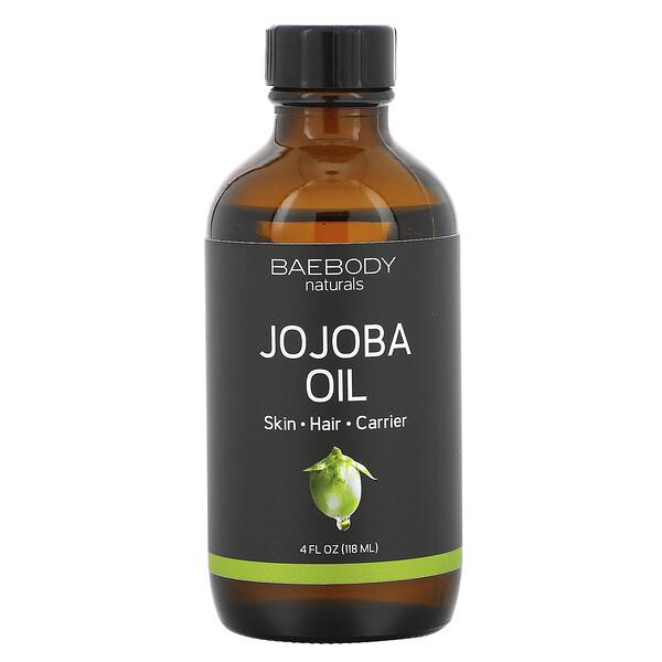 Jojoba Oil, 4 fl oz (118 ml)