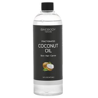 Baebody, 分餾椰子油,16 液量盎司(473 毫升)
