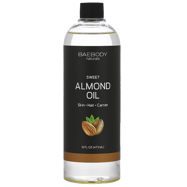 Sweet Almond Oil, 16 fl oz (473 ml)