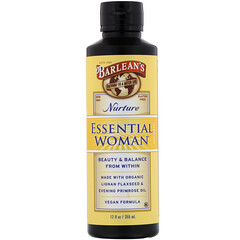 Barlean's, Essential Woman,女性健康滋養補充劑,12 液量盎司(355 毫升)